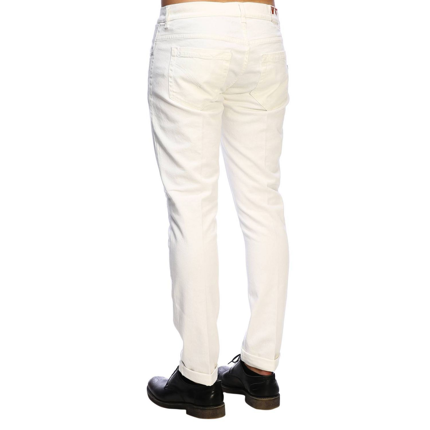 Jeans Dondup: Jeans homme Dondup blanc 2