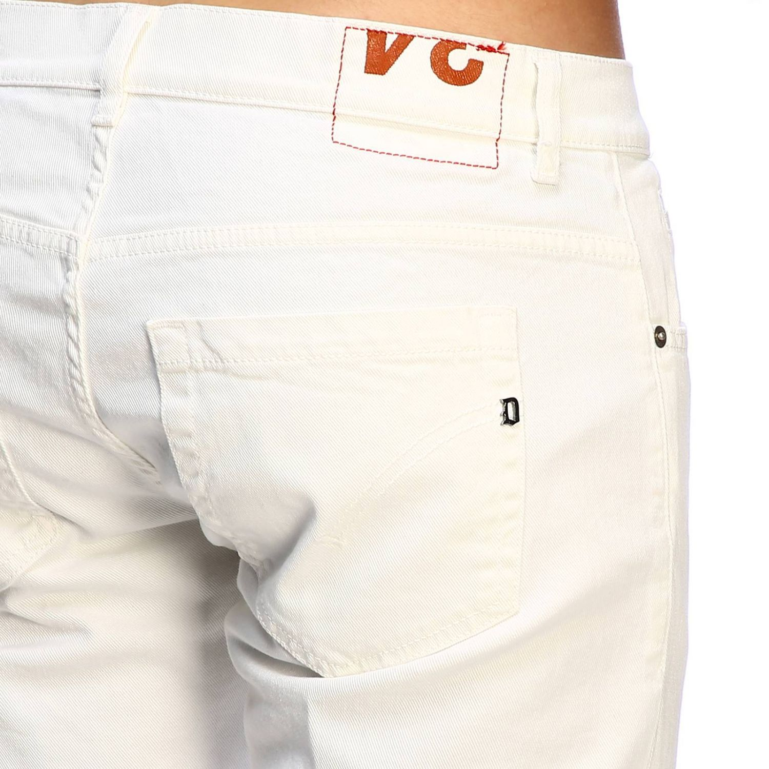 Jeans Dondup: Jeans homme Dondup blanc 3