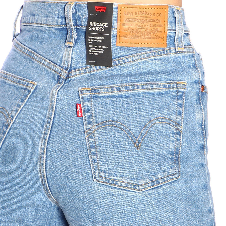 Pantaloncino donna Levi's blue 4