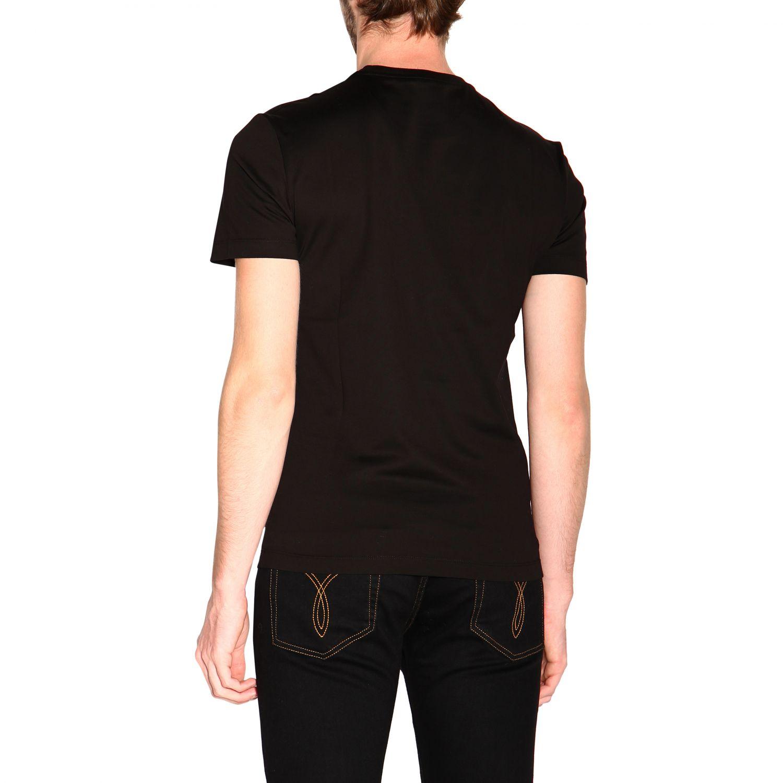 Versace 美杜莎印花短袖T恤 范思哲 黑色 3