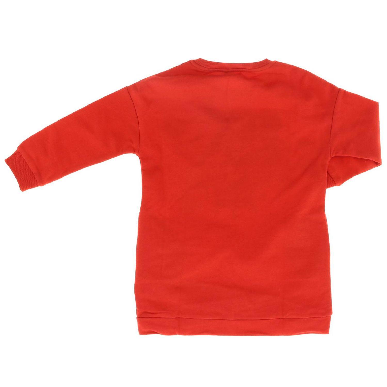 Vestido niños Kenzo Junior rojo 2