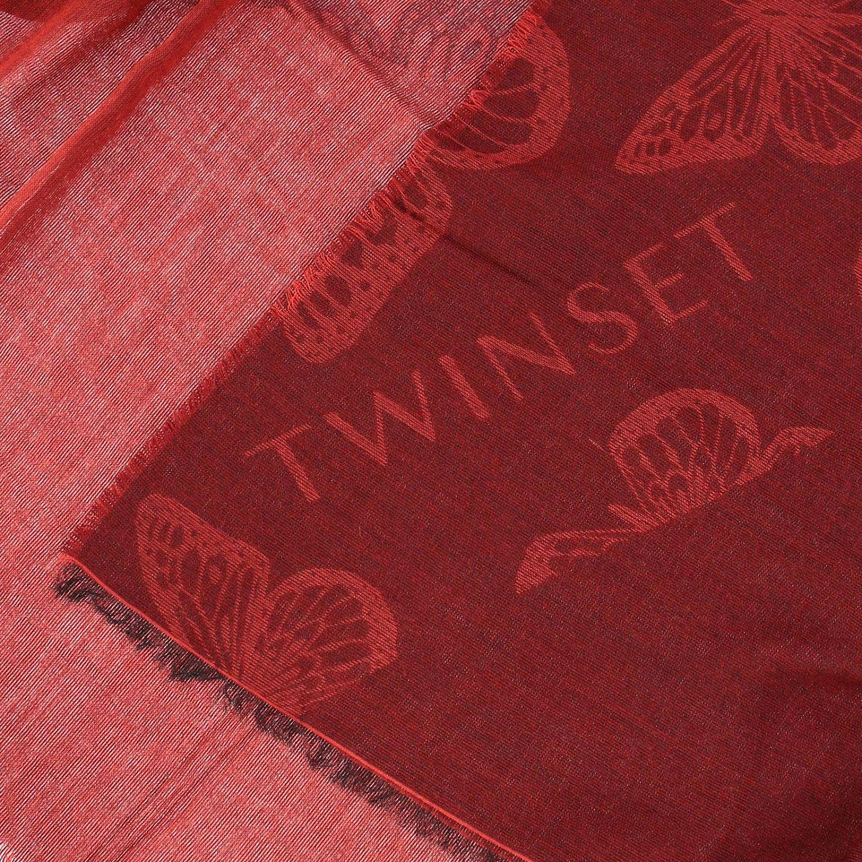 Scarf Twin Set: Scarf women Twin Set red 3