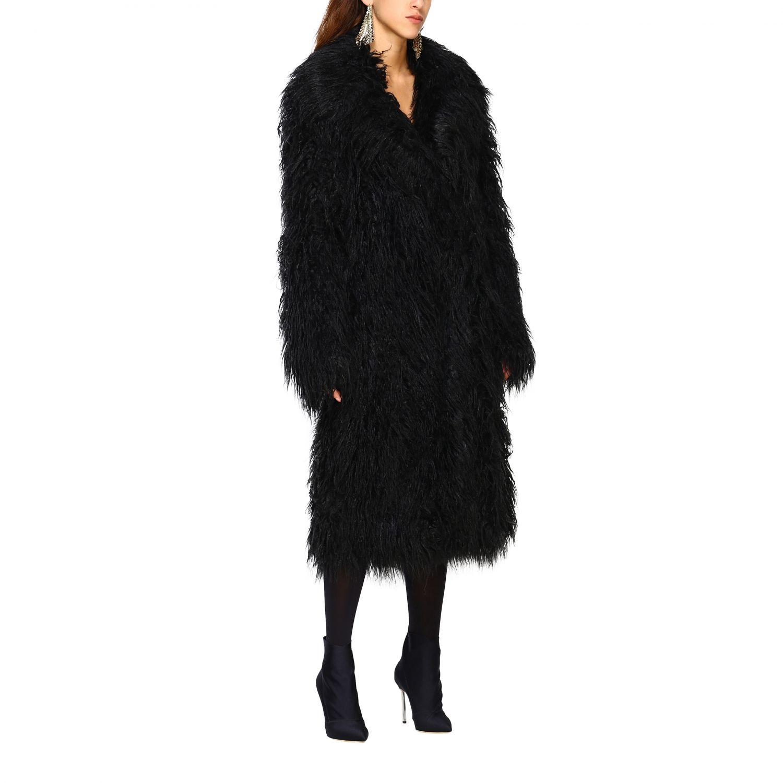 Пальто Женское Paco Rabanne черный 1