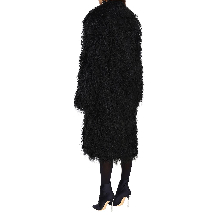 Пальто Женское Paco Rabanne черный 2