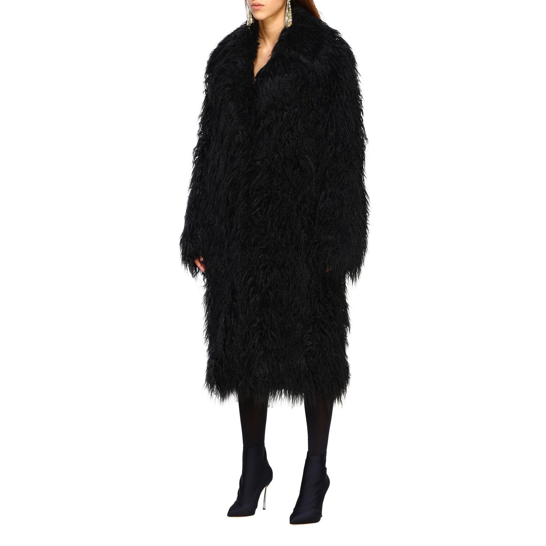 Пальто Женское Paco Rabanne черный 3