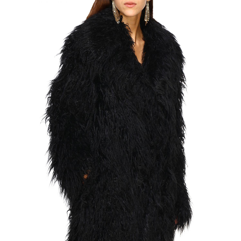 Пальто Женское Paco Rabanne черный 4