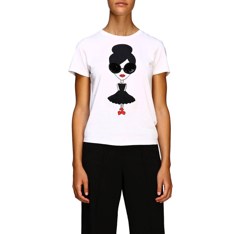 Camiseta Alice+Olivia: Camiseta mujer Alice+olivia blanco 1