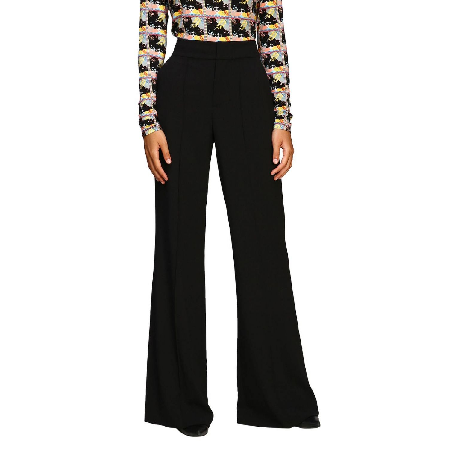 Trousers Alice+Olivia: Trousers women Alice+olivia black 1