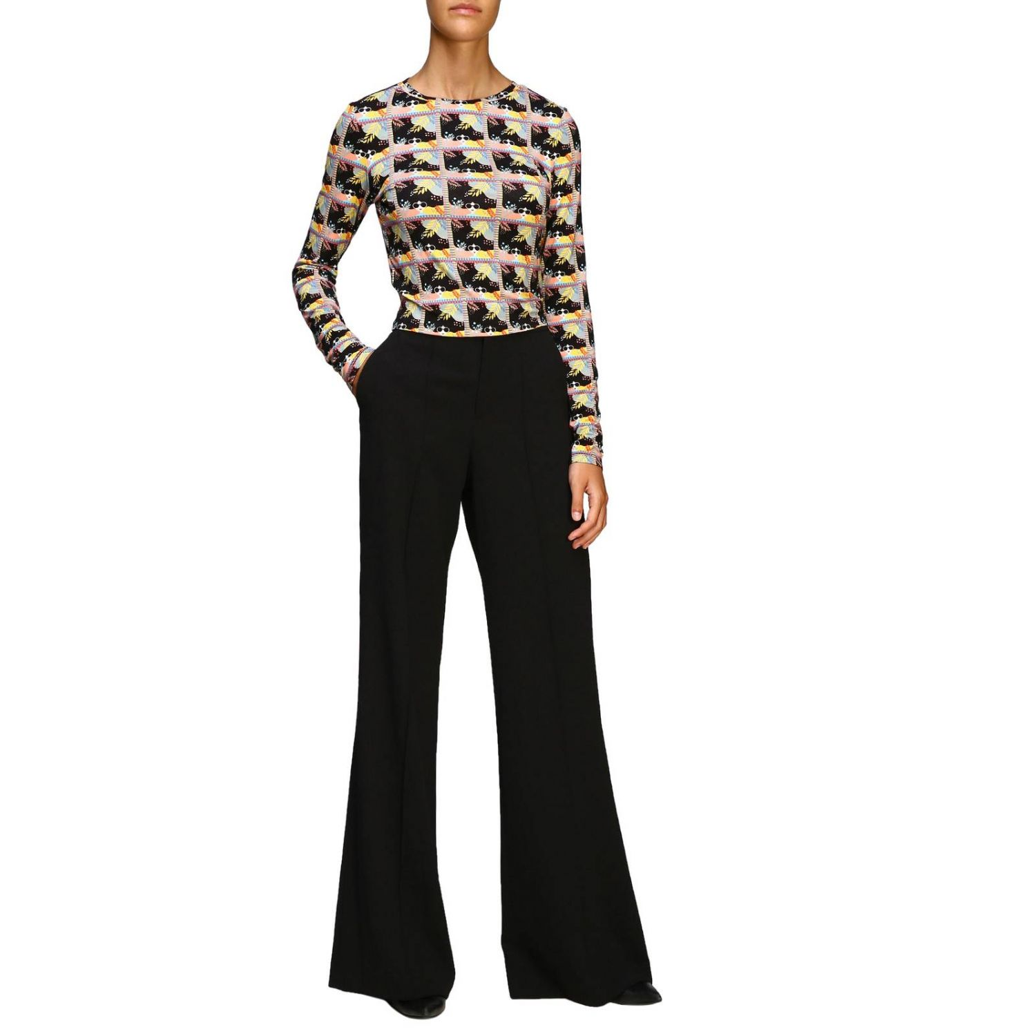 Trousers Alice+Olivia: Trousers women Alice+olivia black 2