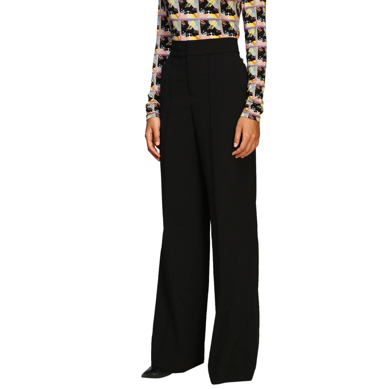 Trousers Alice+Olivia: Trousers women Alice+olivia black 4