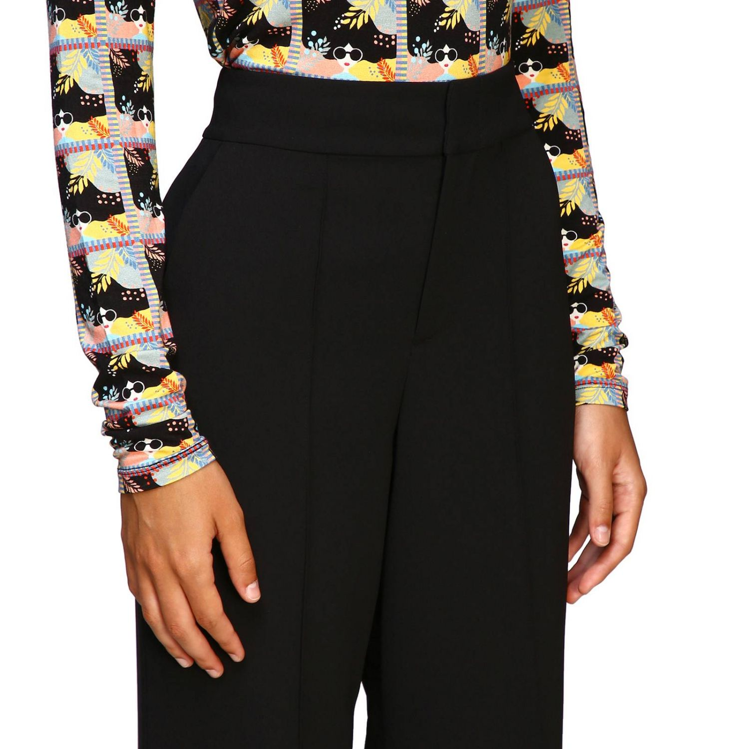 Trousers Alice+Olivia: Trousers women Alice+olivia black 5