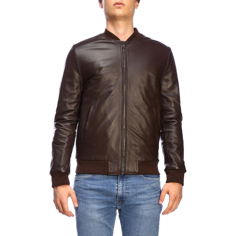 Куртка Daniele Alessandrini: Куртка Мужское Daniele Alessandrini темный 1