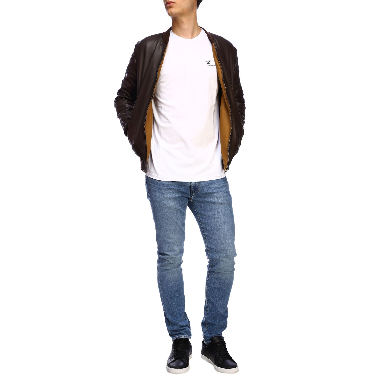 Куртка Daniele Alessandrini: Куртка Мужское Daniele Alessandrini темный 2