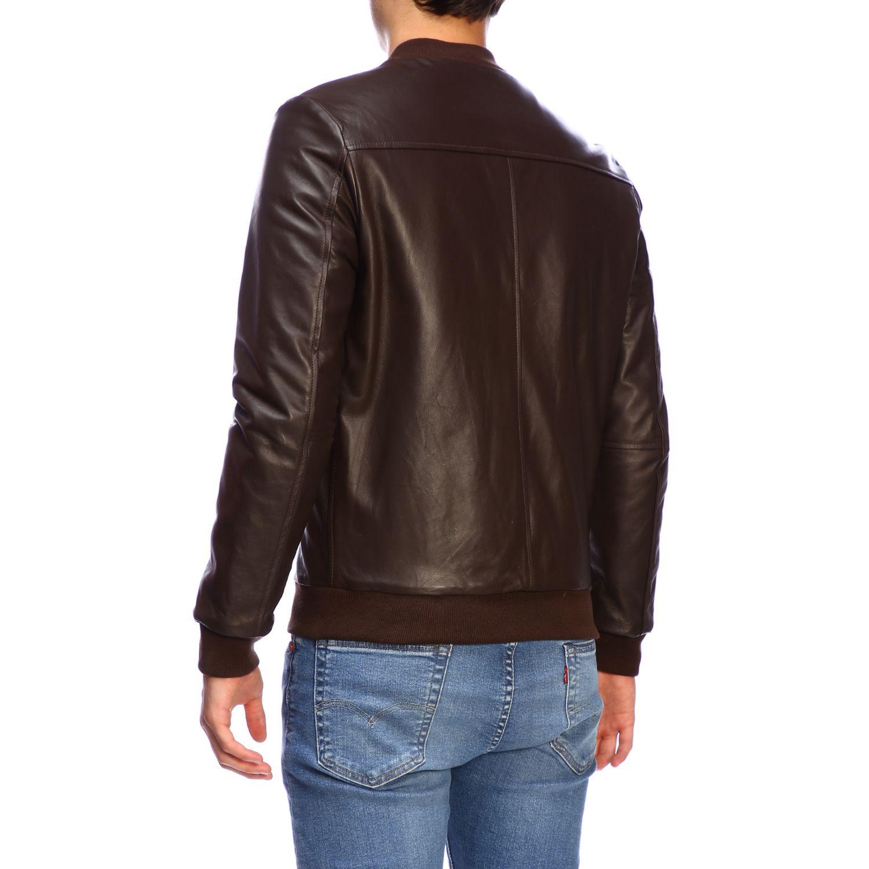 Куртка Daniele Alessandrini: Куртка Мужское Daniele Alessandrini темный 3