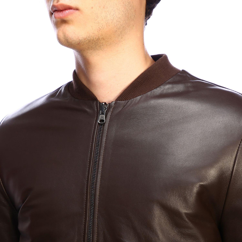 Куртка Daniele Alessandrini: Куртка Мужское Daniele Alessandrini темный 4