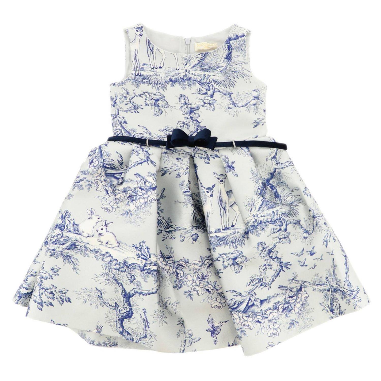 Платье Детское Monnalisa Chic небесно-голубой 1