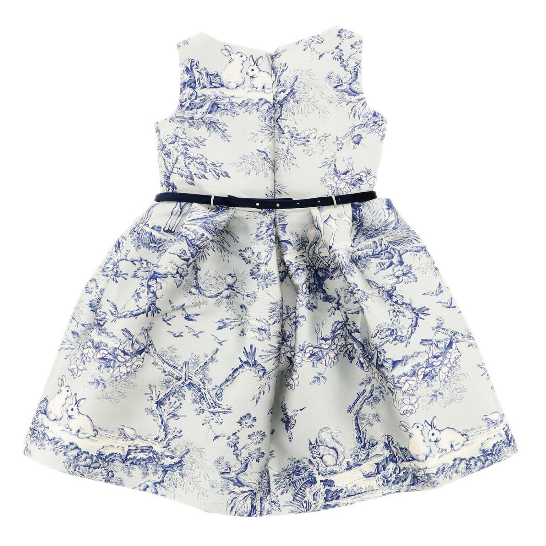 Платье Детское Monnalisa Chic небесно-голубой 2