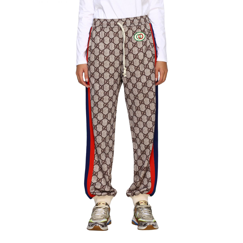 Trousers Women Gucci Trousers Gucci Women Ebony Trousers Gucci 580580 Xjbgt Giglio Uk