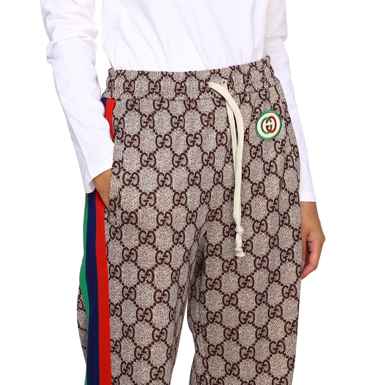 Pants Women Gucci Pants Gucci Women Ebony Pants Gucci 580580 Xjbgt Giglio En