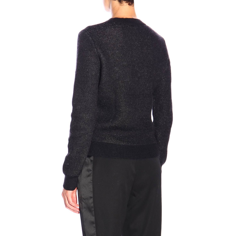 Strickjacke damen Saint Laurent schwarz 3