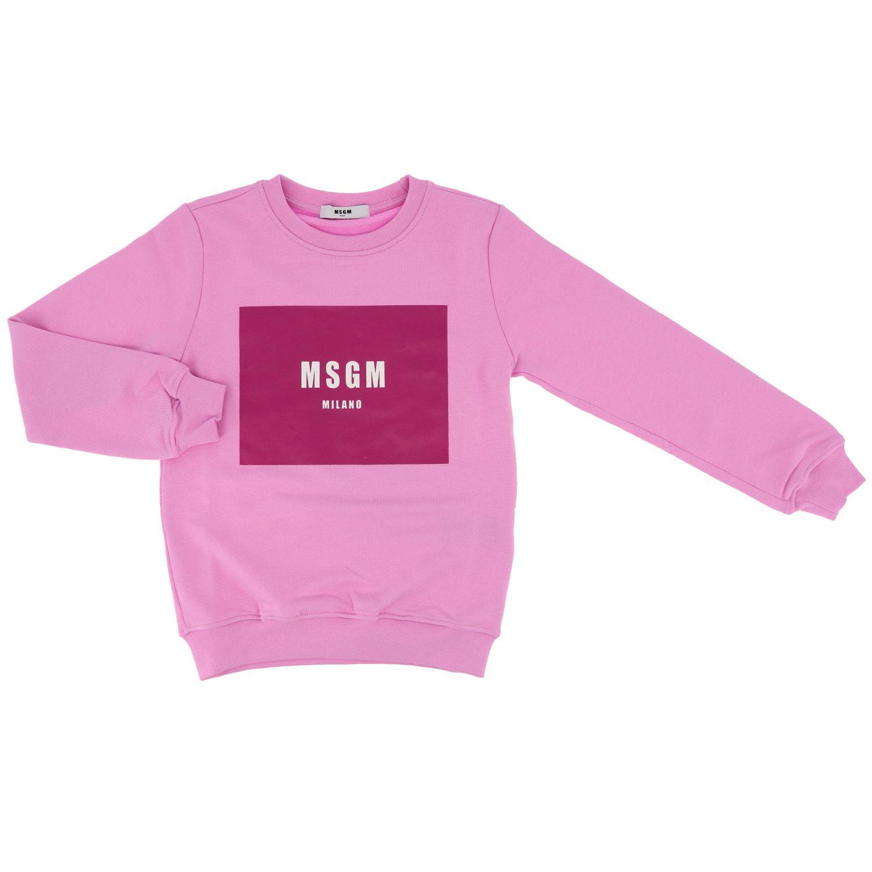 Maglia bambino Msgm Kids rosa 1