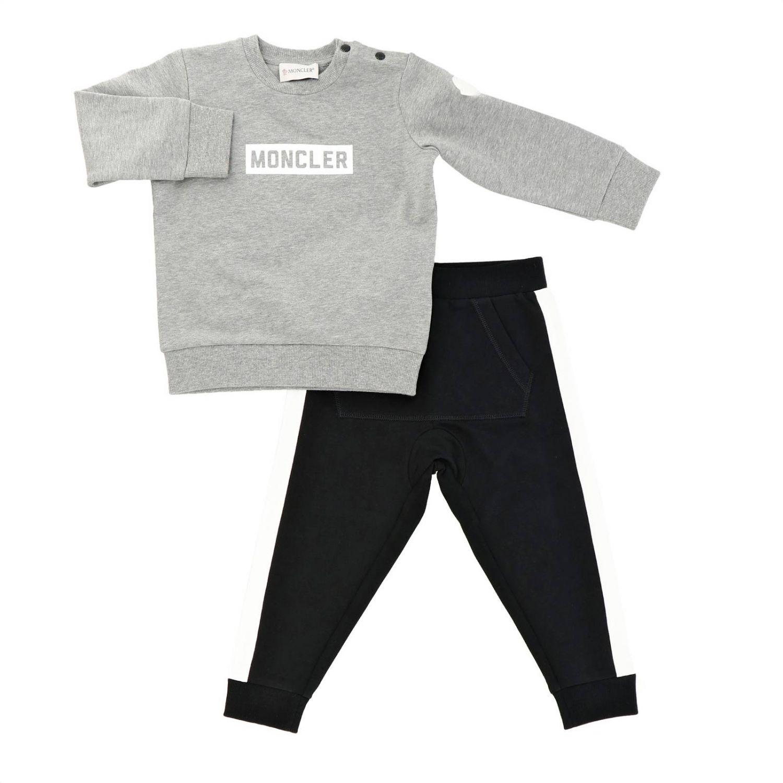 Conjunto niños Moncler gris 1