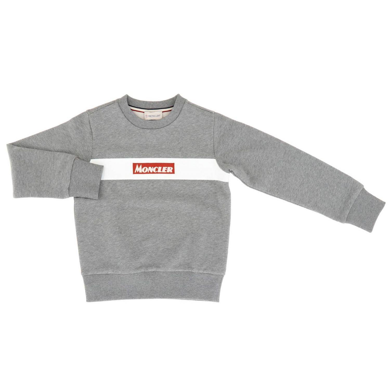 Jersey niños Moncler gris 1