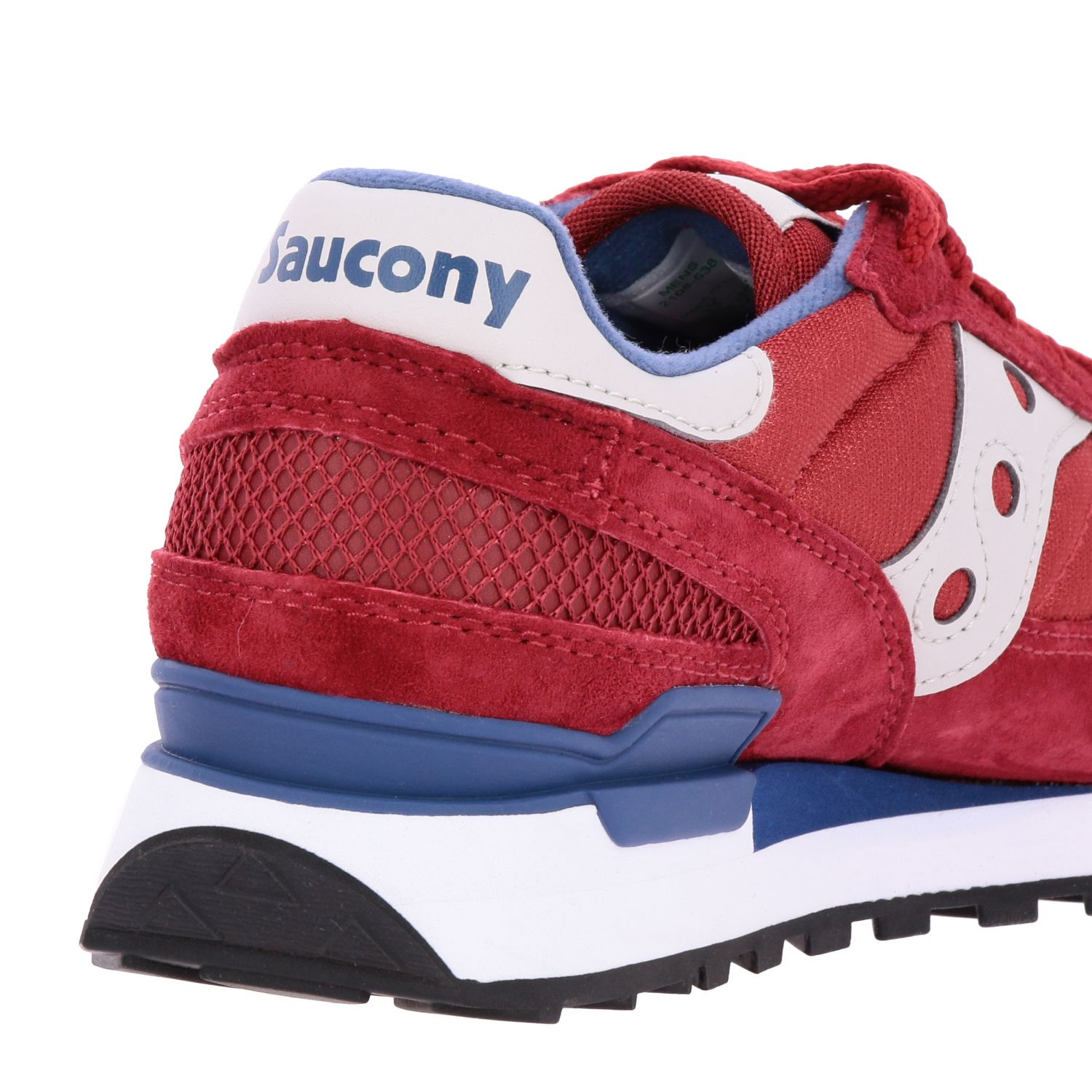 Trainers men Saucony red 5