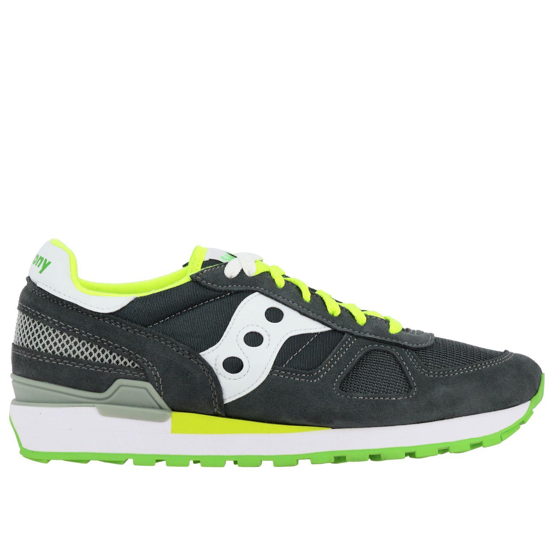 Sneakers herren Saucony grau 1 1