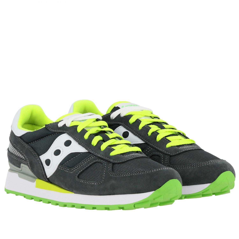 Sneakers herren Saucony grau 1 2