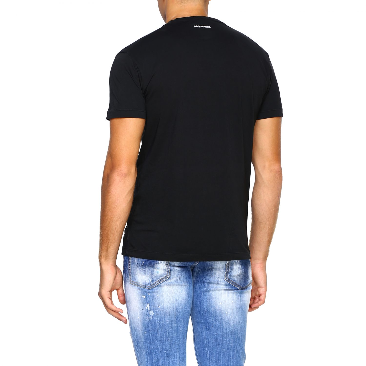 T-shirt men Dsquared2 black 3