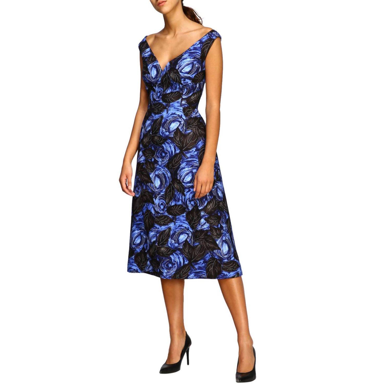 Prada Kleid mit Blumenmuster