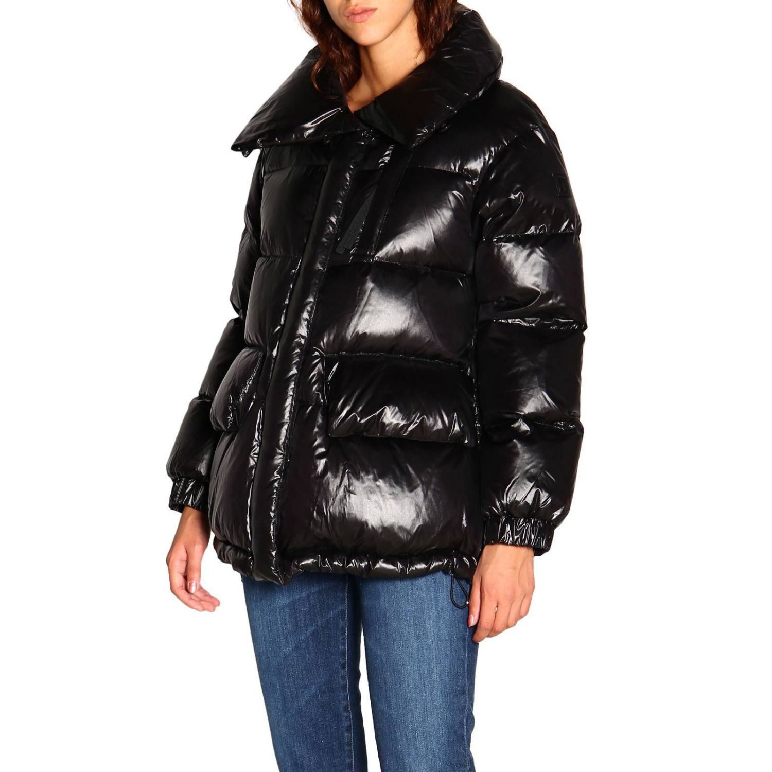 Giacca donna Woolrich nero 4