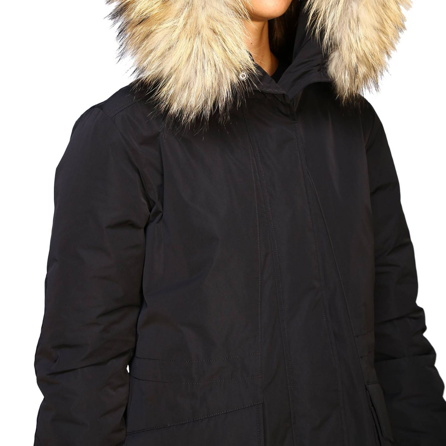 Giacca donna Woolrich nero 5