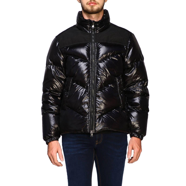 Blazer Woolrich: Piumino Woolrich in nylon lucido nero 1