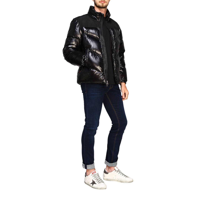 Blazer Woolrich: Piumino Woolrich in nylon lucido nero 2