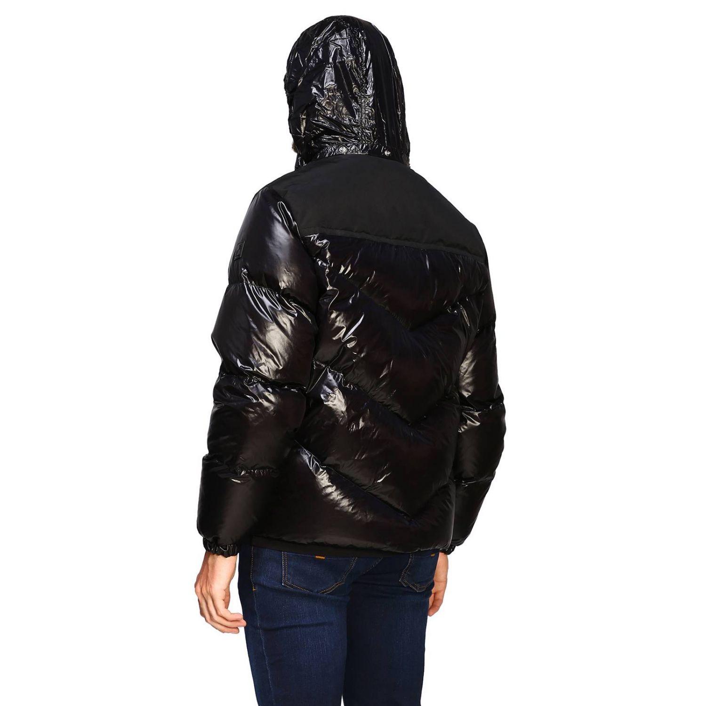 Blazer Woolrich: Piumino Woolrich in nylon lucido nero 3