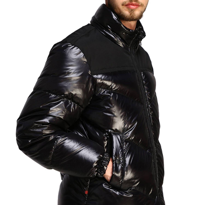 Blazer Woolrich: Piumino Woolrich in nylon lucido nero 5