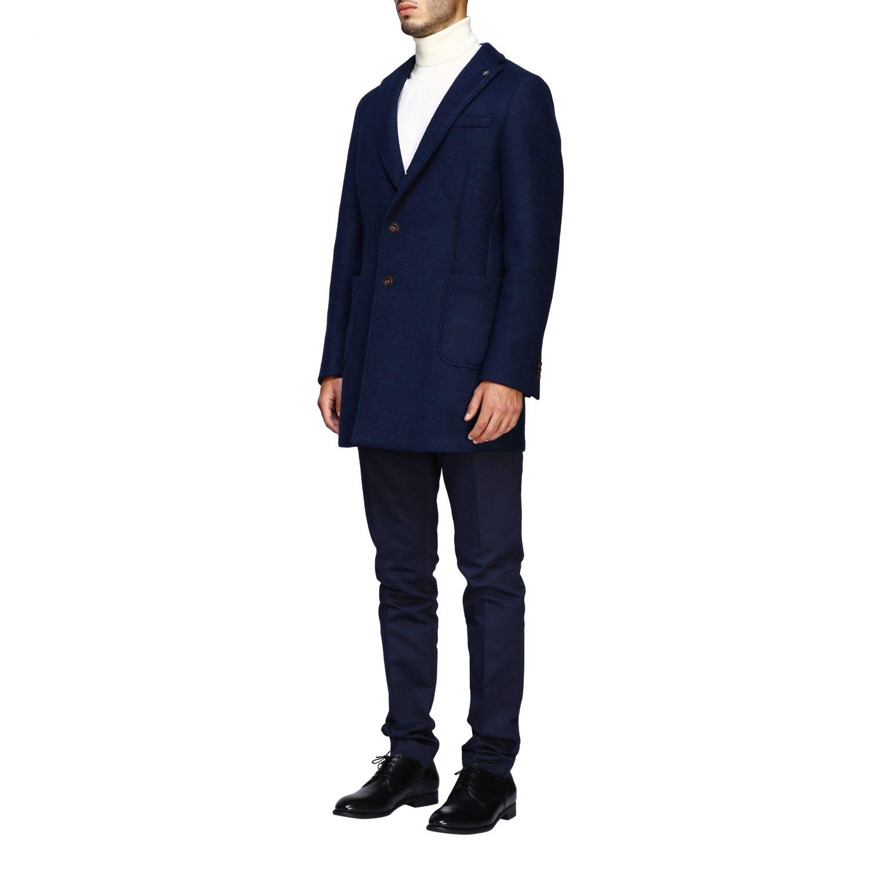 Пальто Мужское Manuel Ritz синий 4