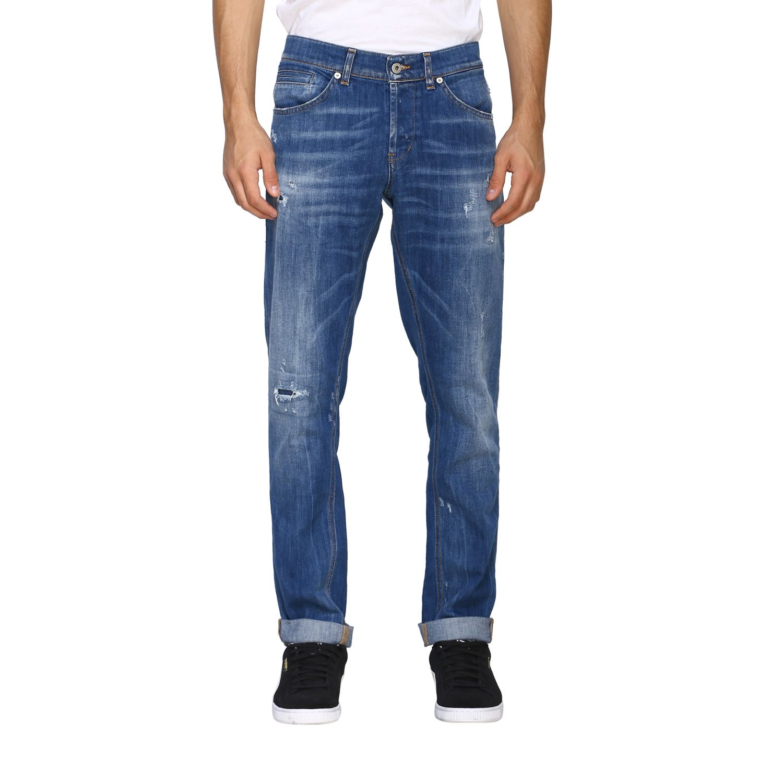 Jeans Dondup: Dondup Jeans aus Stretch Denim denim 1