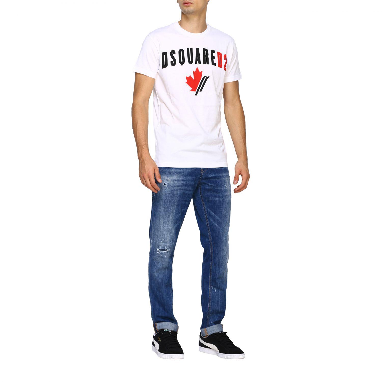 Jeans Dondup: Dondup Jeans aus Stretch Denim denim 2