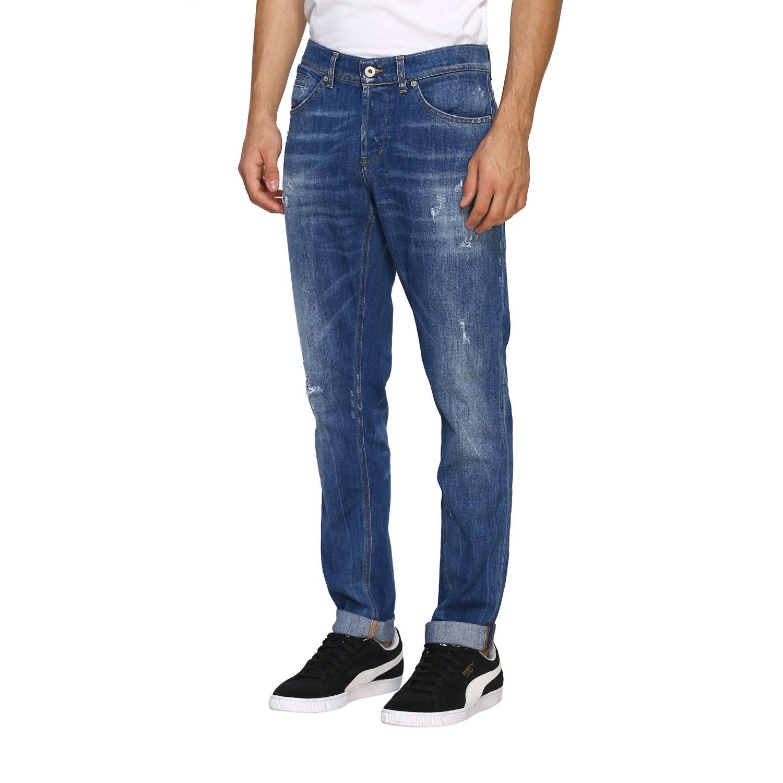 Jeans Dondup: Dondup Jeans aus Stretch Denim denim 4