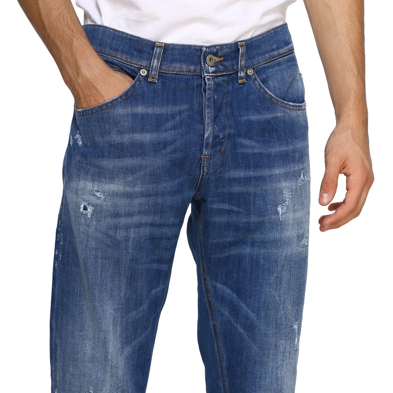 Jeans Dondup: Dondup Jeans aus Stretch Denim denim 5