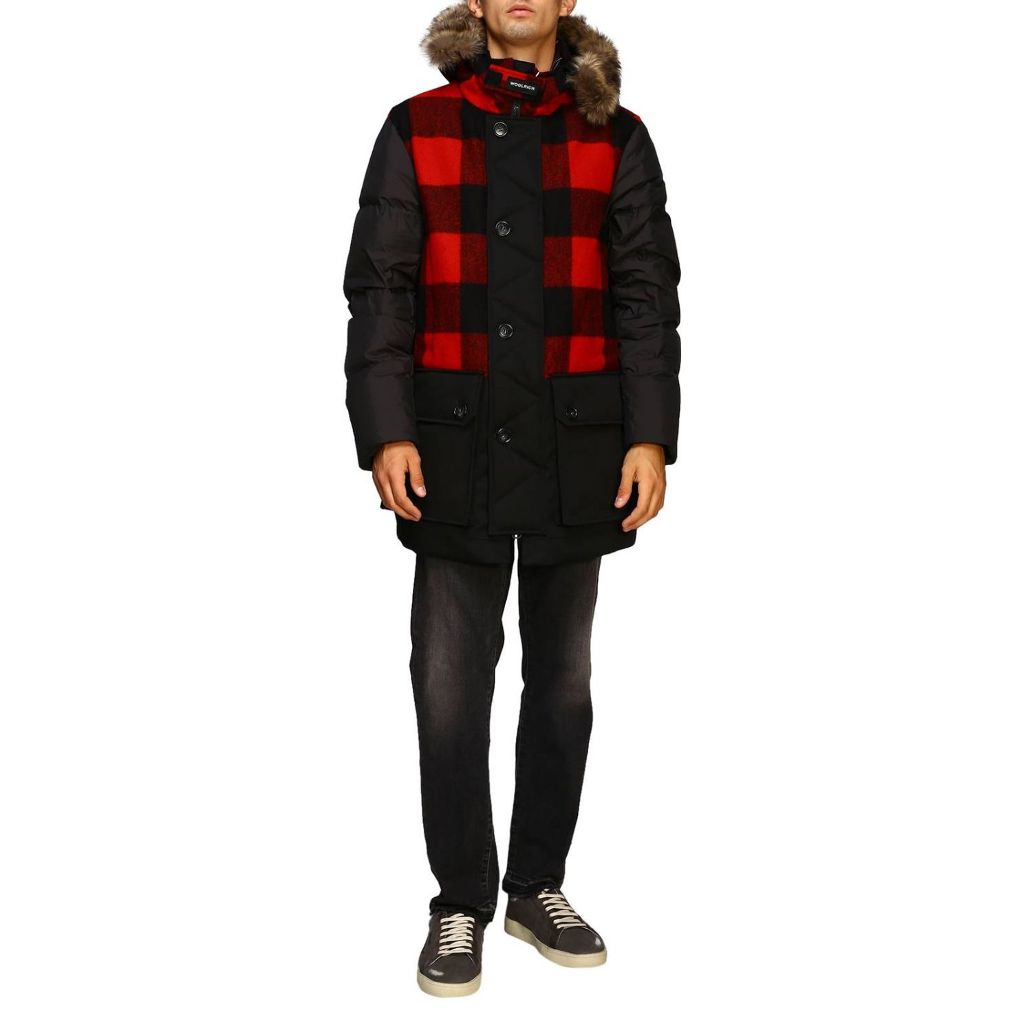 Giacca Woolrich: Giacca uomo Woolrich nero 1