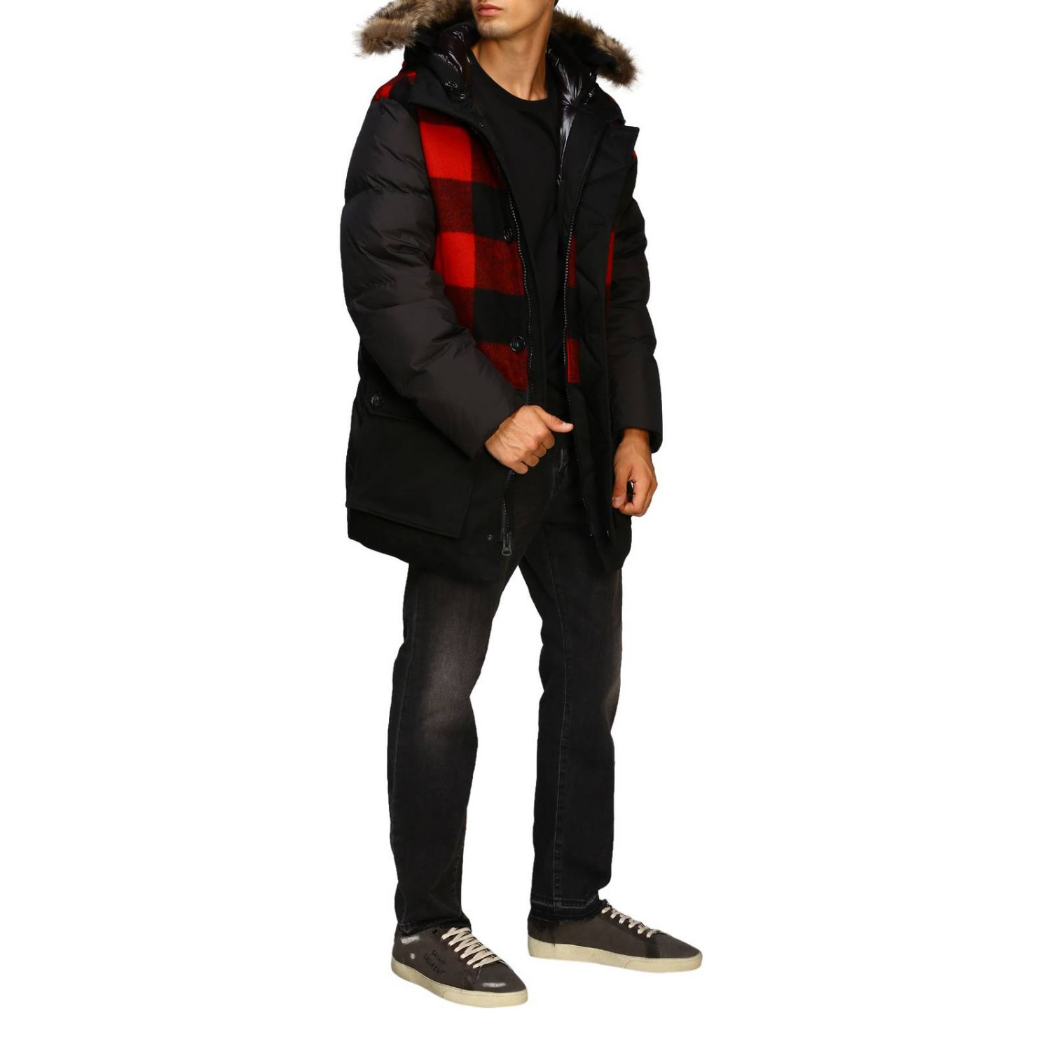 Giacca Woolrich: Giacca uomo Woolrich nero 2