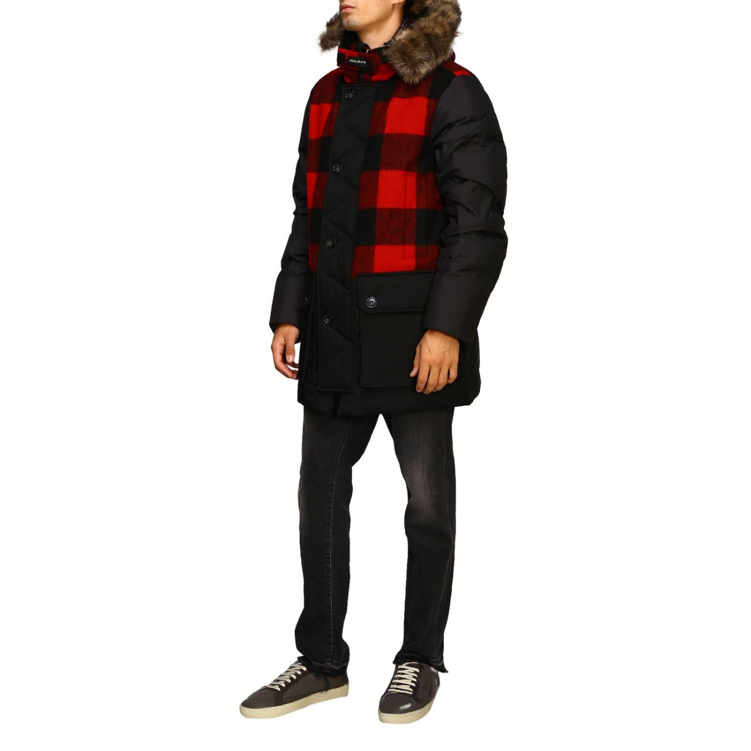 Giacca Woolrich: Giacca uomo Woolrich nero 4