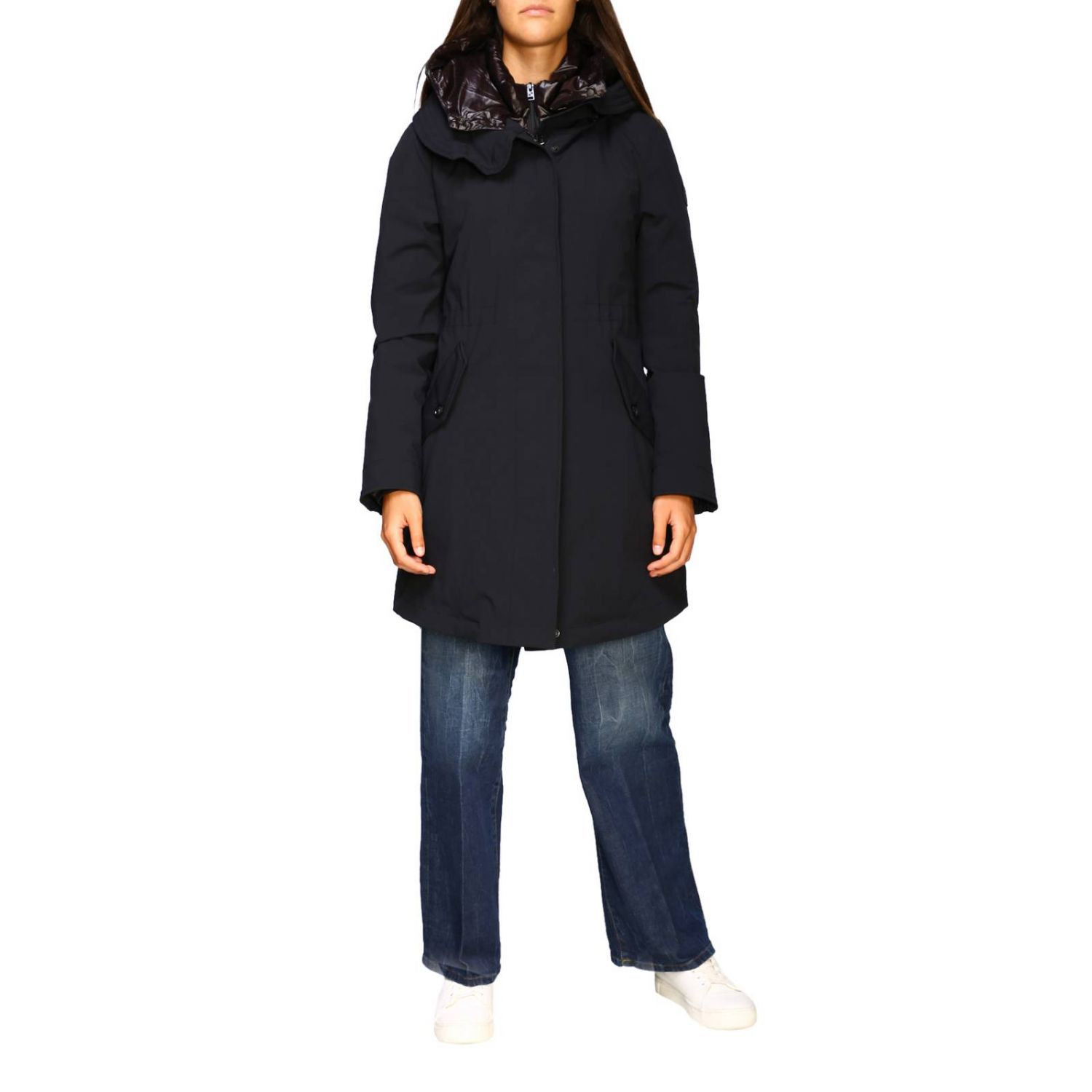 Giacca donna Woolrich nero 1