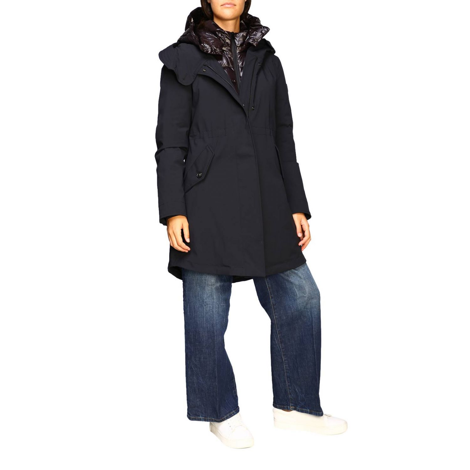 Giacca donna Woolrich nero 2
