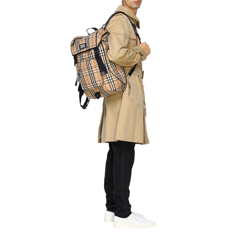 外套 Burberry: Burberry 防水棉配腰带中长风衣 蜜色 2