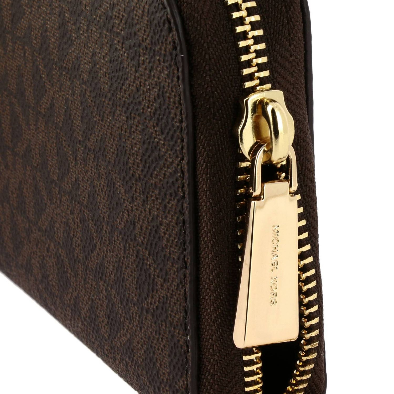 Wallet Michael Michael Kors: Wallet women Michael Michael Kors brown 4